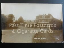 Kent: Bromley Keston The Fox Inn RP c1917 shows HORSE & CARTS / OLD COTTAGE TEAS