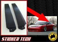 CARBON FIBRE B PILLAR OVERLAY STICKER DECAL TO SUIT NISSAN NISMO S13 180SX S14