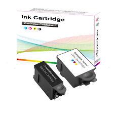 2 Compatible Advent Ink Cartridges 1 Black ABK10 + 1 Colour ACRL10