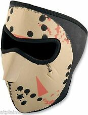Zanheadgear Moto ski Snowboard Planche Masque Facial Neoprene Glow in the Dark
