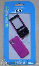Reemplazo Rosa Y Negro Fascia & cubierta de batería para Nokia 5610 Xpressmusic