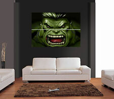 El Increíble Hulk cara Gigante De Pared Art Print imagen Cartel
