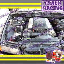 93 94 95 97 98-01 BMW 740i 740iL i iL M60 M62 E38 AIR INTAKE KIT+K&N Black Red