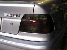 BMW 540 M5 Smoked Taillight Overlay Tinted Vinyl Film Cover 97-03 E39 530 525