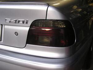 Smoked Tail Light Film for 97-03 BMW 540 530i 525i Tint Vinyl Overlay E39