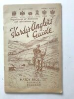 1938 Vintage Hardy's Anglers Guide