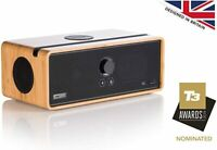 NEW Orbitsound Bamboo Dock E30 Wi-Fi Multiroom Bluetooth Speaker Free Delivery
