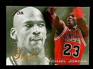Michael Jordan 1995 Flair Style Gold Foil Bulls + Golf Promo Lot - FREE S&H