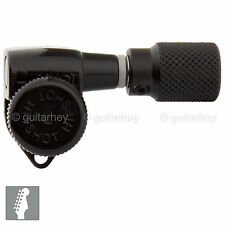 NEW Hipshot Grip-Locking Non-Staggered OPEN-GEAR 6 In Line SK1 w/ Screws - BLACK