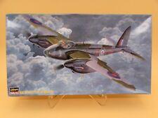 1/72 Hasegawa Mosquito B Mk.Iv Wwii Royal Air Force Bomber Model Kit #51217
