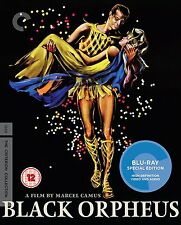 BLACK ORPHEUS (Orfeo Negro) BLURAY Criterion Collection in Portoghese NEW .cp
