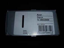Hansgrohe Axor Starck 2jet bacchetta doccetta, cromato, 28532000