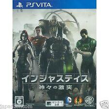 Injustice: Kamigami no Gekitotsu PS Vita SONY JAPANESE NEW JAPANZON