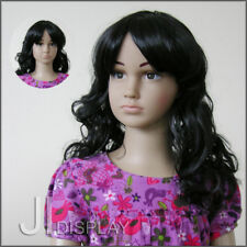 JI DISPLAY Kinder Perücke Wig für Kinderpuppen Mannequin Schaufensterpuppe 004-2