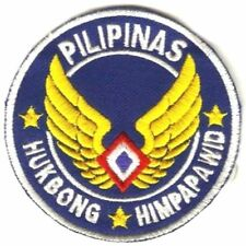 Philippines Air Force PAF Air Force of the Phiiippines Patch 3.75in