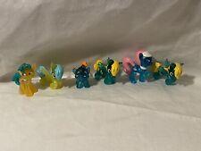 Hasbro My Little Pony Mini Figures Mlp Mixed Lot of 6 Cute Lot Blue glitter