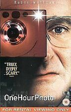 One Hour Photo (VHS video, 2003) Robin Williams film