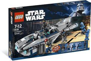 New Sealed LEGO 8128 Star Wars CAD BANE'S SPEEDER Clone Wars Rare Discontinued