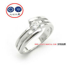 "Diamond Ring 8405 #6 ViVi ""H&A"" Signity Star"