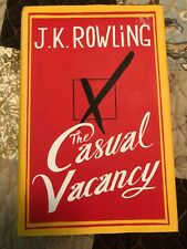 The Casual Vacancy by J. K. Rowling (2012, Hardcover)