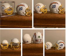 San Diego Chargers Los Angeles 2020 Gumball Pocket Pro Football Helmet Lot