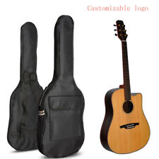 """Guitar Bag Cover Soft Case Holder For Acoustic Guitar 41"""" 5mm Shoulder Strap New"""