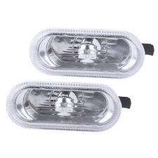 2 Side Marker Light Turn Signal Indicator for VW Golf Jetta MK4 Passat 1J0949117