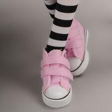 Dollmore 1/4 BJD SHOES MSD - Two strap Sneakers (Pink)