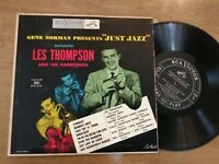 "LES THOMPSON Gene Norman Presents Just Jazz RCA Victor LPM 3102 10"" LP 1953 VG+"