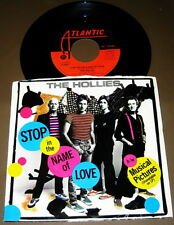 The Hollies – Stop In The Name Of Love / Musical Pictures - PIC SLEEVE