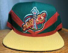 Seattle Supersonics Mitchell and Ness Snapback Hat
