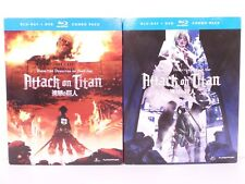 Attack on Titan Part 1, Part 2, BLU-RAY Combo Pack Anime
