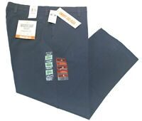Men's Dockers Workday Khaki Blue Straight Fit Smart 360 Flex Pants