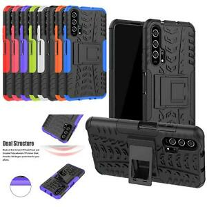 """For Huawei Nova 5T, (6.26"""") Shockproof Builder TOUGH Heavy Duty Phone Case Cover"""