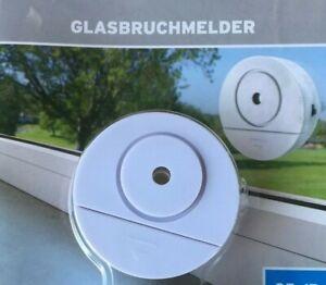 5x  Fensteralarm Glasbruchmelder Einbruchschutz Fenster Alarmanlage Alarm Tür