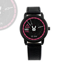 Game Overwatch D.va Backstitch Electronic Watch With PU Strap