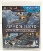 Air Conflicts Pacific Carriers PS3 Sony PlayStation 3 Brand New Factory Sealed