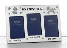 My First Year Rectangle Photo & Picture Clip Frames/Frameless Frames