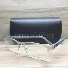 faa063729d7 Ermenegildo Zegna EZ 5023 Eyeglasses Palladium Teal Grey 017 Authentic 54mm