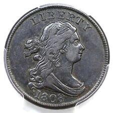 1808 C-3 PCGS XF 45 Draped Bust Half Cent Coin 1/2c