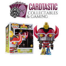 Might Morphin Power Rangers - Megazord Glow #497 - New Funko POP! vinyl Figure