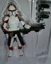 Star Wars COMMANDER PONDS Figure CW Assault on Ryloth Red Clone Trooper Target