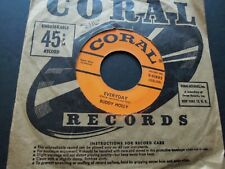 Buddy Holly ' Peggy Sue / Everyday '  USA 45 jukebox 7 inch