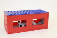 Container  Baucontainer mit Stühlen und Tisch   1:50  NEU 3556