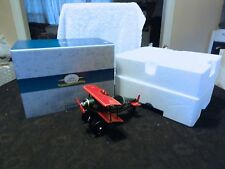 Hallmark Kiddie Car Classics 1930 Spirit Of Christmas Gold Crown Plane With Box