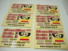 Jamara Hong Nor -X 2  - 6 Dekorbogen -24,5 x 15 cm