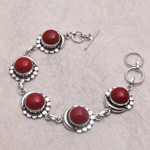 Coral Ethnic Gift Jewelry Handmade Bracelet 21 Gms AB 58422
