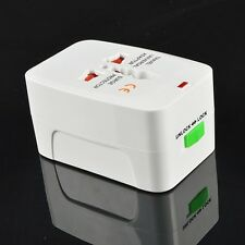 All-in-One International Travel Power Charger Universal Adapter Plug AU/UK/US/E