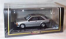 VITESSE 1/43 DIECAST 1981 FORD ESCORT MKIII MK3 GL STRATO SILVER RHD 24834R