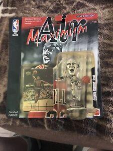 1999 MATTEL  MICHAEL JORDAN MAXIMUM AIR COLLECTION SILVER EDITION